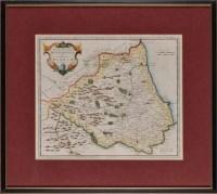 Lot 13 - Robert Morden (c.1650-1703) ''EPISCOPAIUS...