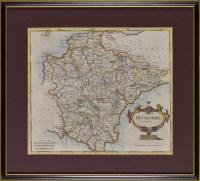 Lot 14 - Robert Morden (c.1650-1703) A MAP OF THE...