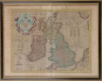 Lot 16 - Garard Mercator (1512-1594) ''ANGLIA, SCOTIA...