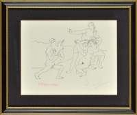 Lot 21 - Pablo Picasso (Spanish 1881-1973) MAN WITH...
