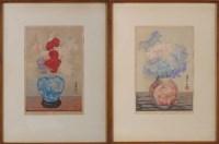 Lot 46 - Yoshijiro Urushibara (Japanese 1888-1953) PINK,...