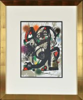 Lot 51 - Joan Miro (Spanish 1893-1983) PLATE III FROM...
