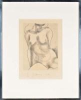 Lot 53 - Jim Dine (1935-) ''LITTLE NUDE NO. 3'' signed...
