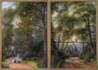 Lot 71 - Edward Facon Watson (1804-1892) FIGURES...