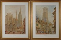 Lot 72 - Paul Braddon (1864-1938) ''CHARTRES CATHEDRAL''...