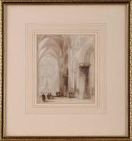 Lot 73 - Charles Ward (fl.1826-1869) THE INTERIOR OF...