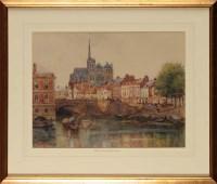 Lot 79 - William Henry Charlton (1846-1918) ''AMIENS''...
