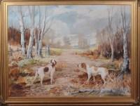 Lot 89 - Ruben Ward Binks (1880-1950) A WOODLAND...