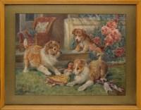 Lot 94 - Wilson Hepple (1853-1937) ''AN INNOCENT VICTIM'...