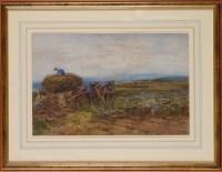 Lot 102 - John Atkinson (1863-1924) ''LOADING TURNIPS'' -...
