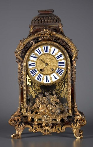 Lot 1179-A large and impressive 18th Century French boulle ...