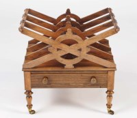 Lot 1260-A Regency rosewood Canterbury, the three sections ...