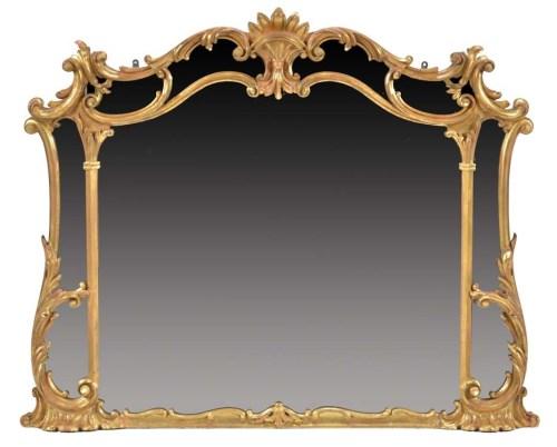 Lot 1325 - A 19th Century gilt frame rococo design...