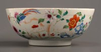 Lot 24 - Two Famille Rose bowls, 18th Century, each...