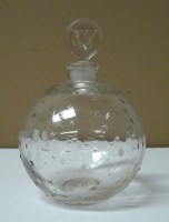 Lot 90 - Lalique: a perfume bottle for ''Dans la Nuit''...