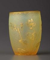 Lot 92 - Daum, Nancy: a small acid etched vase, of...