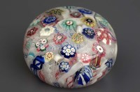 Lot 104 - A paperweight, probably French, with...