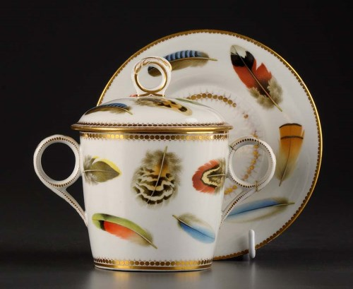 Lot 116 - Chamberlains Worcester: a twin-handled...