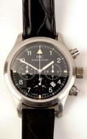 Lot 828 - International Watch Company: a steel cased...