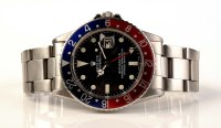 Lot 833-A Rolex Oyster Perpetual GMT-Master automatic...