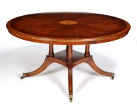 Lot 1349-A fine quality Regency style dining table, 20th...
