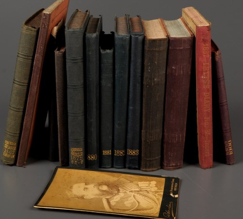 Lot 1165-† A collection of diaries by Horatio Harbord...