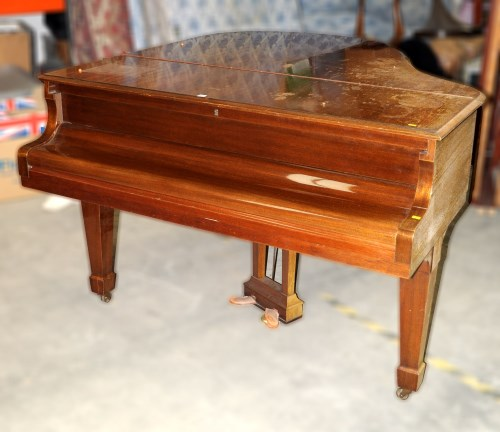 Lot 1441-A Steinway Model S Baby Grand Piano, No. 345795,...