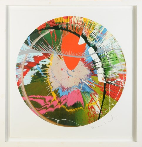Lot 50-Damien Hirst (1965-) ''BEAUTIFUL, GALACTIC,...