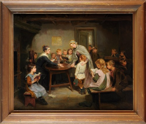 Lot 295-Ralph Hedley, RBA (1848-1913) ''THE NEW...
