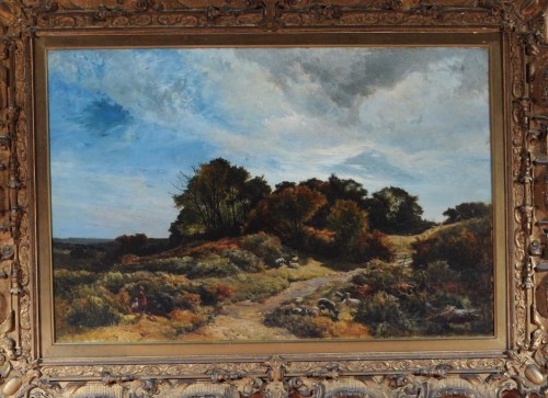 Lot 315-Sidney Richard Percy (1821-1886) ''THE PATH...