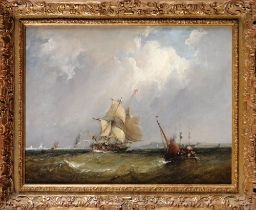 Lot 340-A Follower of Henry Redmore (1820-1887) A...
