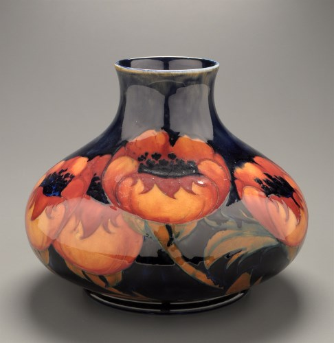 Lot 307-William Moorcroft: 'Big Poppy', a large squat...