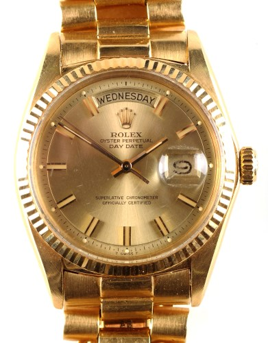 Lot 702 - A gentleman's Rolex Oyster Perpetual day-date...