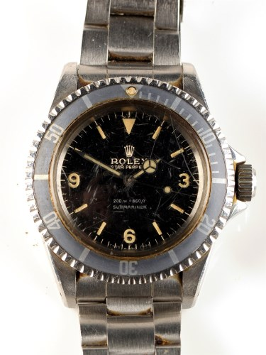 Lot 712-A steel cased Rolex Oyster Perpetual...