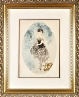 Lot 10 - Louis Icart (American/French 1888-1950) ''THE...