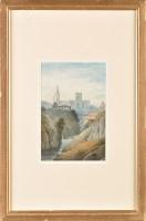 Lot 22 - John Shirley Fox (1860-1939) A RIVER VALLEY...