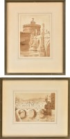 Lot 24 - Sir Ernest George, RA (1839-1922) ''ROME'' AND...