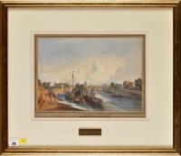 Lot 28 - C*** J*** Capel (19th Century) ''PONT ROYALE,...
