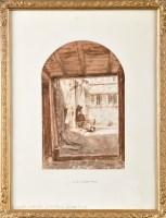 Lot 35 - Solomon Alexander Hart, RA (1806-1881) A WOMAN...