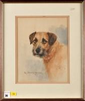 Lot 36 - Reuben Ward Binks (1860-1945) A PORTRAIT OF A...