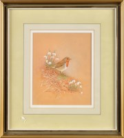 Lot 37 - Kathleen Nelson (Contemporary) ''A ROBIN IN...