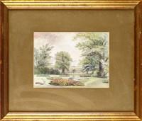 Lot 47 - William Bell Scott (1811-1890) ''THE GARDEN AT...