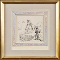 Lot 48 - Ernest Howard Shepard (1879-1976) A CAVALRYMAN...