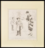 Lot 65 - George Belcher, RA (1875-1947) A HUMOROUS...