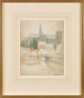 Lot 69 - Victor Noble Rainbird (1888-1936) ''AMIENS''...