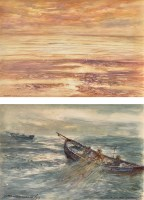 Lot 74 - Victor Noble Rainbird (1888-1936) ''SALMON...