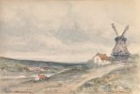 Lot 77 - Victor Noble Rainbird (1888-1936) ''MILL ON...