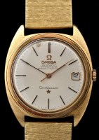 Lot 727 - Omega Constellation: a gentleman's gold cased...