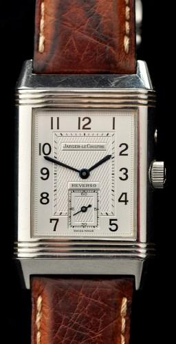 Lot 735-Jaeger le Coultre Reverso: a gentleman's...