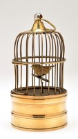 Lot 1001-A 20th Century bird cage musical automaton, with...